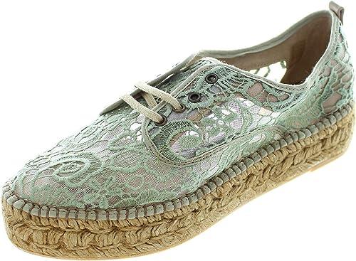 Gaimo Randy .Sin - Alpargatas de tela para mujer verde verde, color verde, talla 39: Amazon.es: Zapatos y complementos