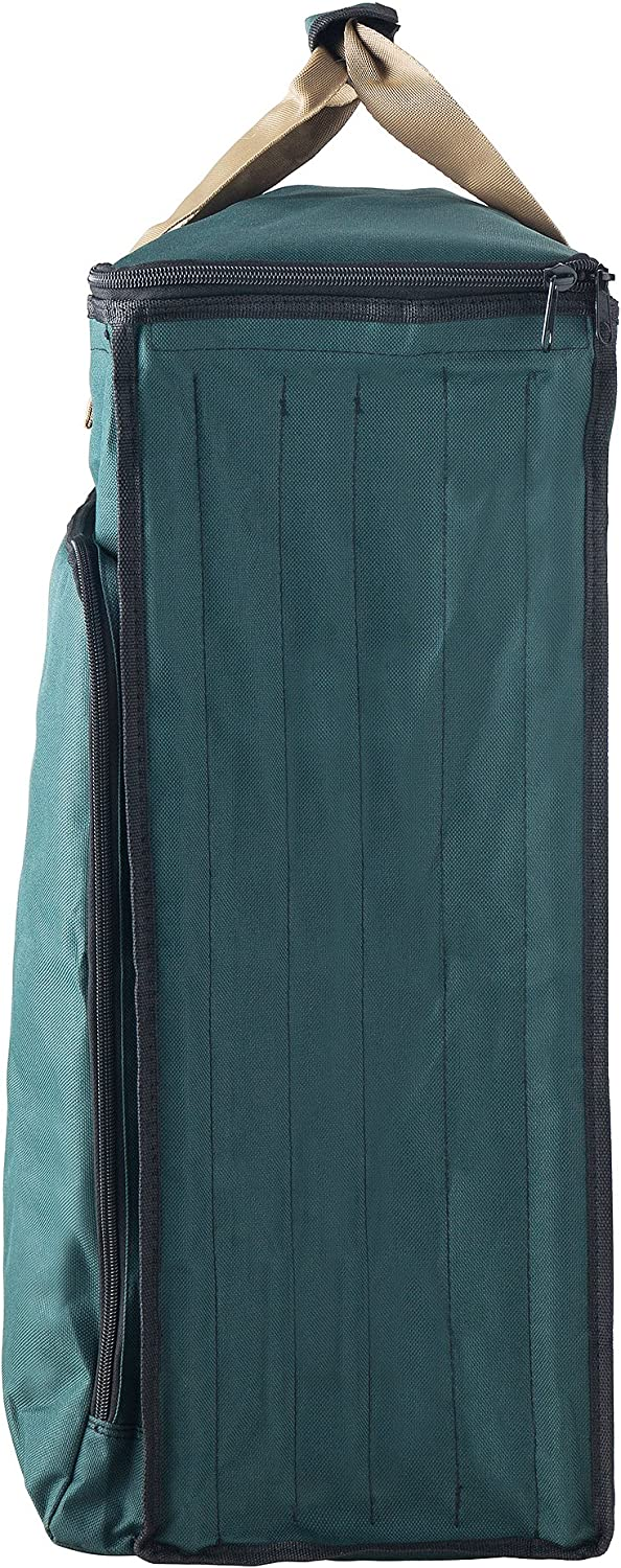 Premium Holiday Storage for Gift Wrap and Bags Tiny Tim Totes 83-DT5580 Ultimate Organizer Green