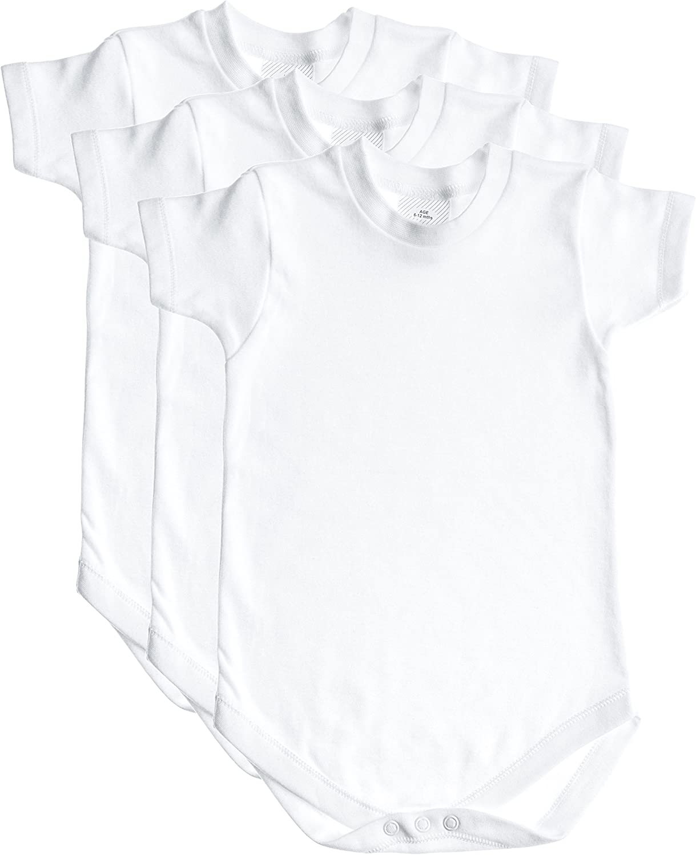 Ayobaby Big Boy Logo Unisex Baby Funny Onesie Cotton Super Soft Creative Printed Short Sleeve Bodysuit White
