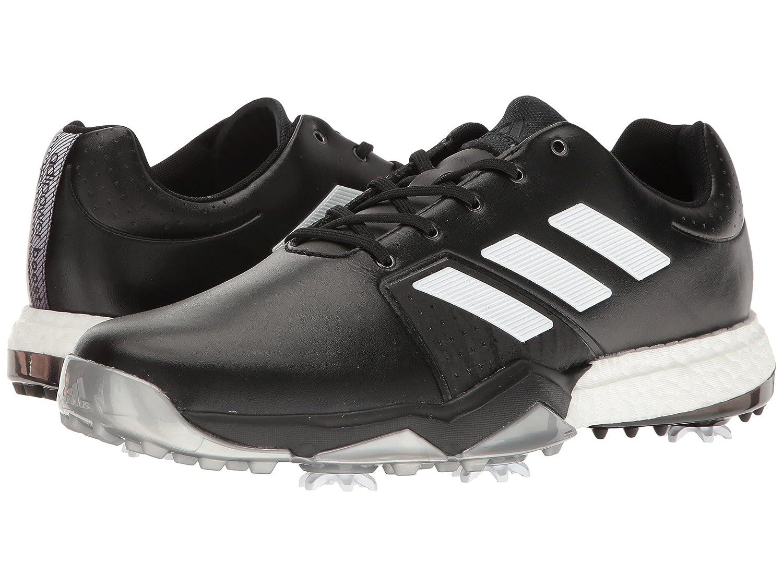Core メンズ adidas Boost  Black/Ftwr D US8(26cm) [アディダス ゴルフ] 3 [並行輸入品] スニーカー Adipower - B06WLPD4TV Golf Medium White/Silver Metallic  -