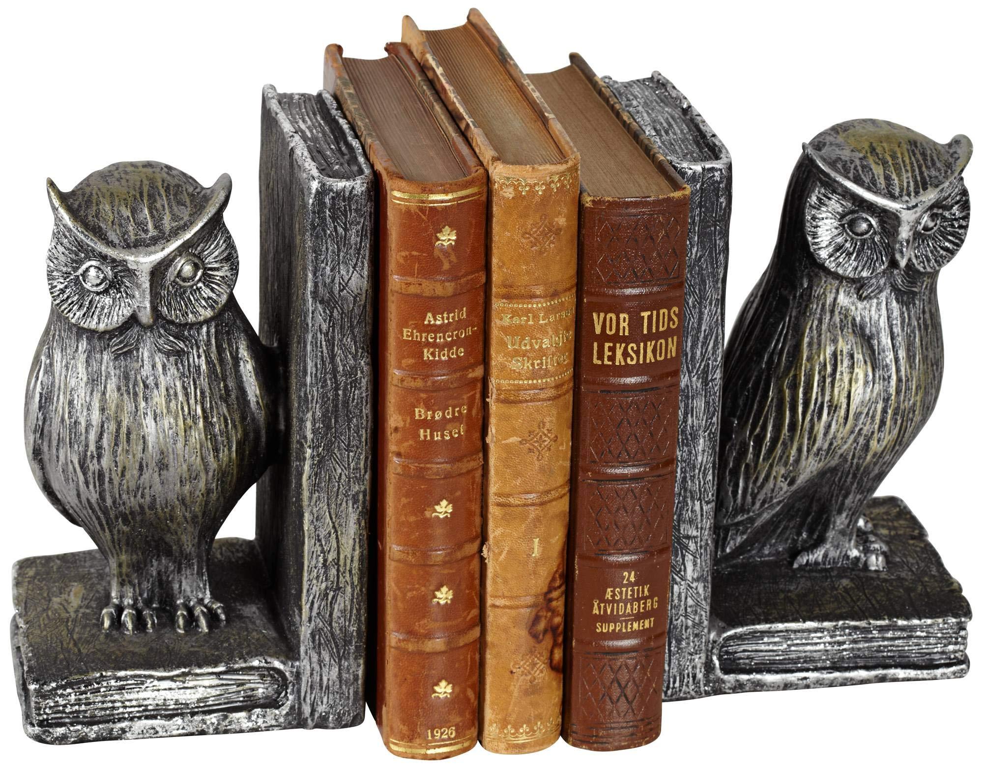 Kensington Hill Standing Owl Bookends Set