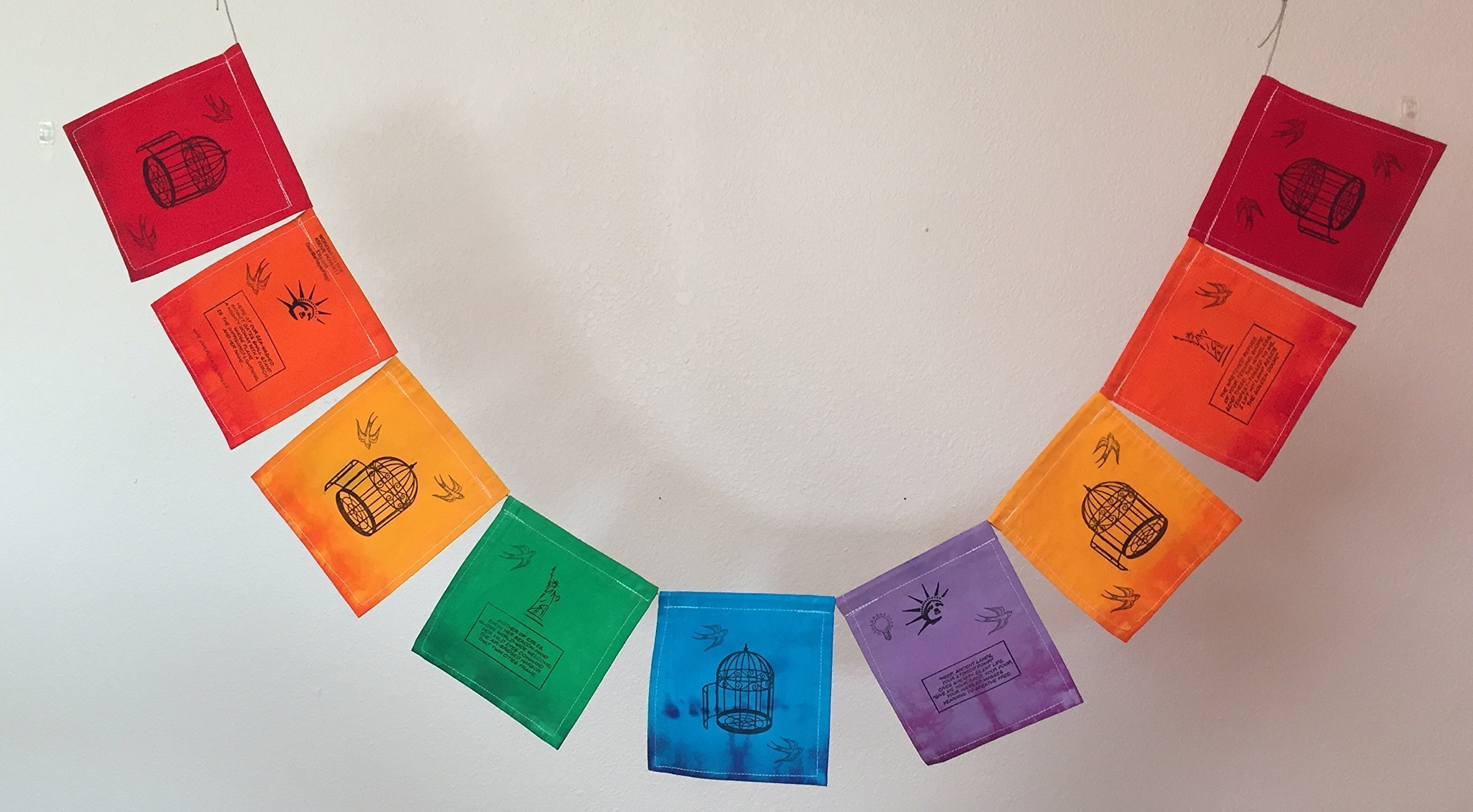 ''Why America IS Great !'' Prayer Flag. All Proceeds to families in Mexico. Free domestic shipping.