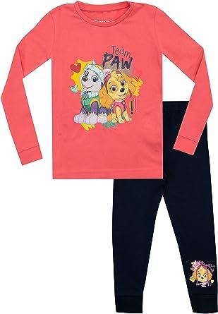 Girls Babies Nickelodeon Character Paw Patrol Official Skye Marshall PJ Pyjamas