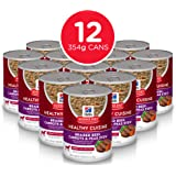 Hills Science Diet Adult Healthy Cuisine Braised Beef, Carrots & Peas Stew Canned Dog Food, 354g, 12 Pack