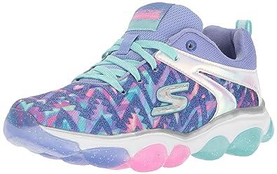 d4bab14b89ff Skechers Kids Girls  Skech-Air Groove Sneaker