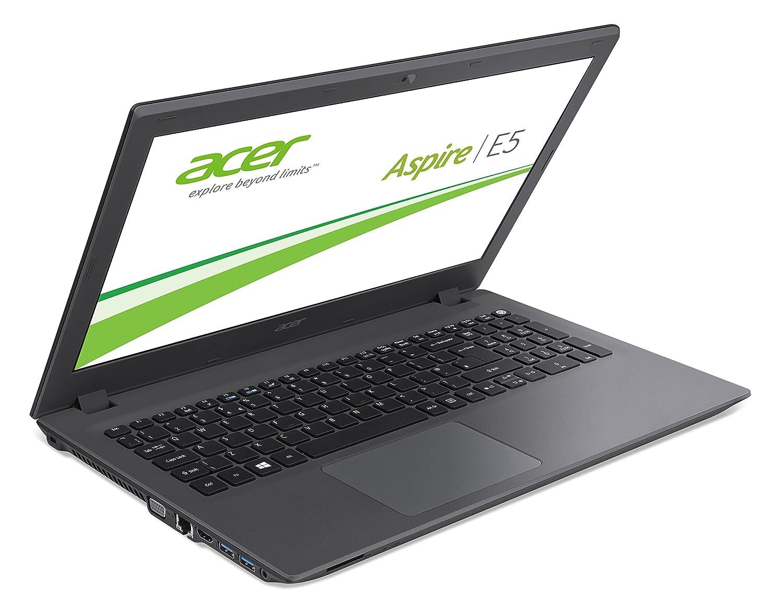 Acer Aspire E15 (E5-573-54QC) - Ordenador portátil (Portátil, DVD Super Multi DL, Touchpad, Polímero de litio, Negro, Concha), teclado QWERTZ (alemán): ...
