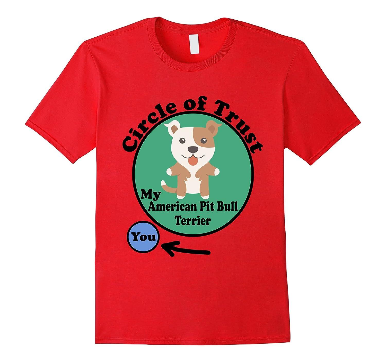 American Pit Bull Terrier T-Shirt - Circle of Trust Pit Bull-TH