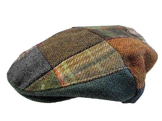e152bbe6cfe3d Little Lids Vintage Children s Irish Patchwork Tweed Caps Scally Flat Cap  (Large)