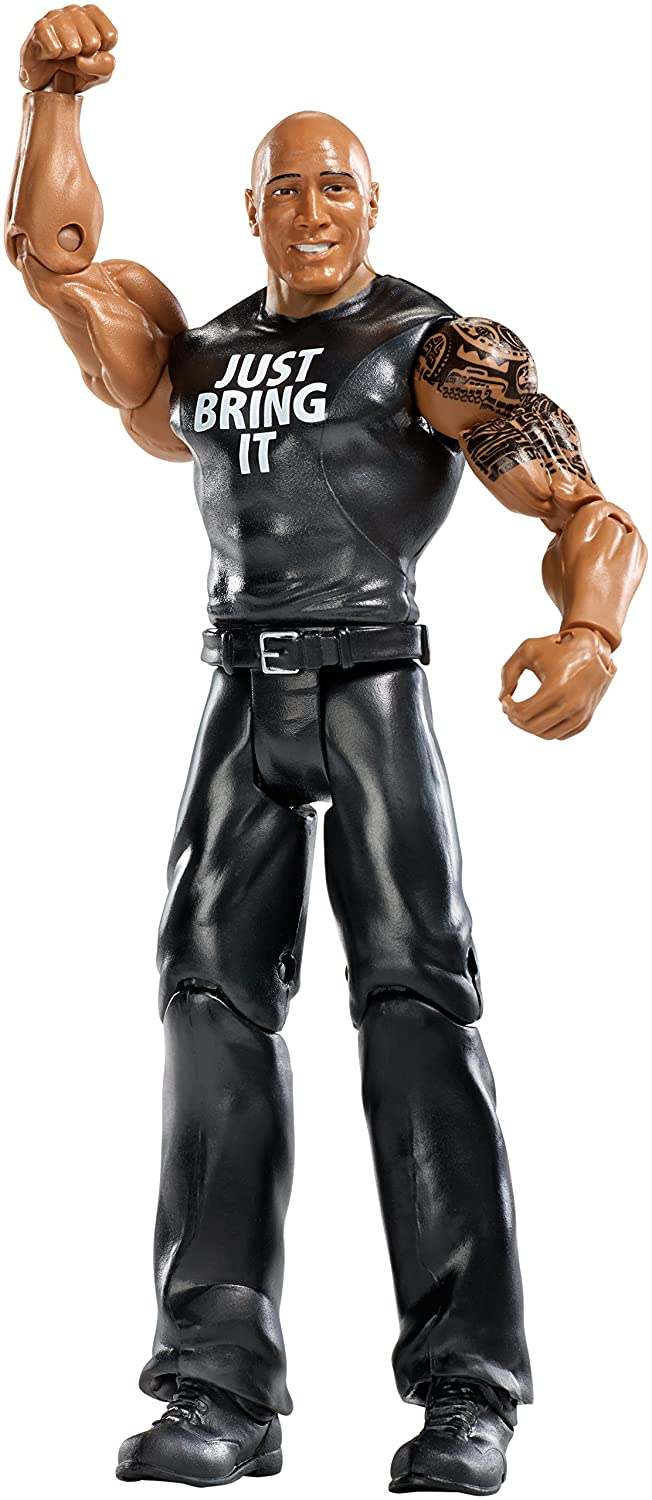 WWE Action Figure Series 54 -  56 The Rock