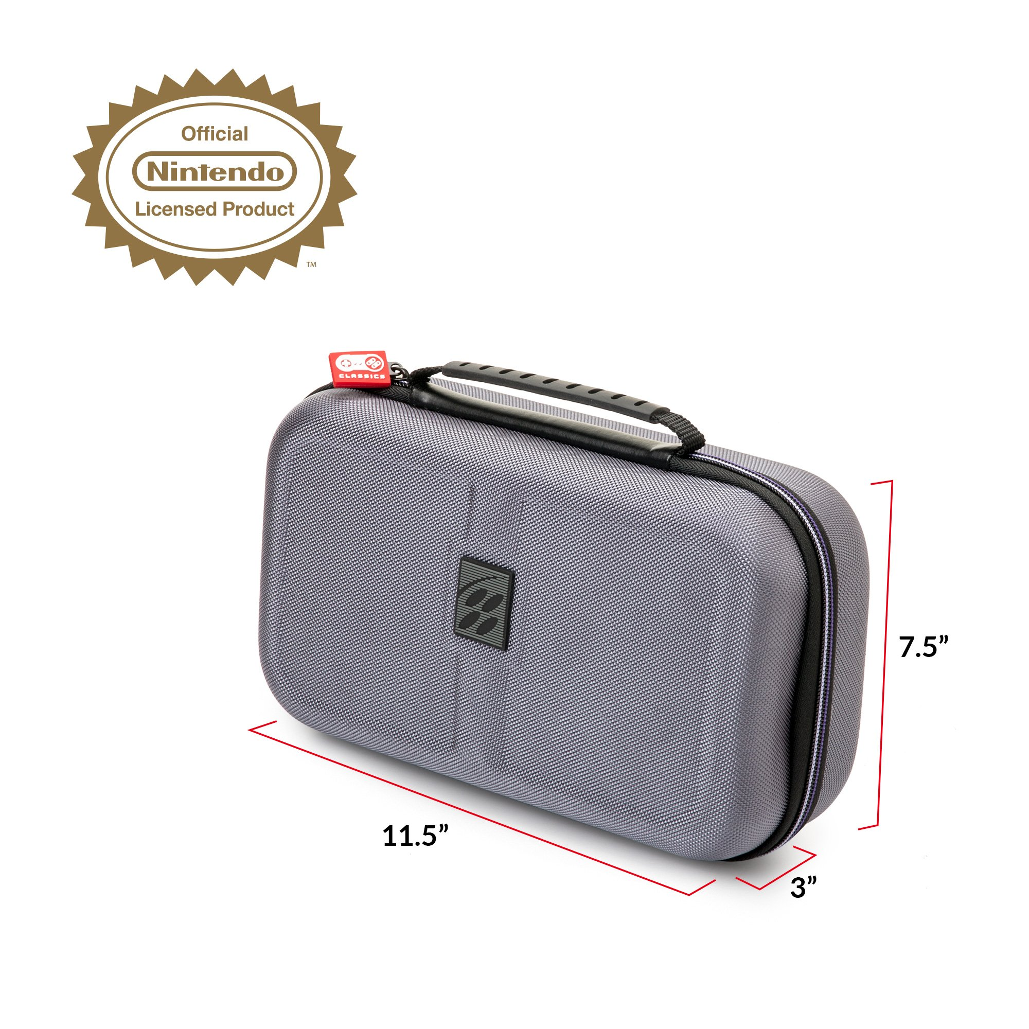 Rds Industries Deluxe Travel Case For Snes Classic