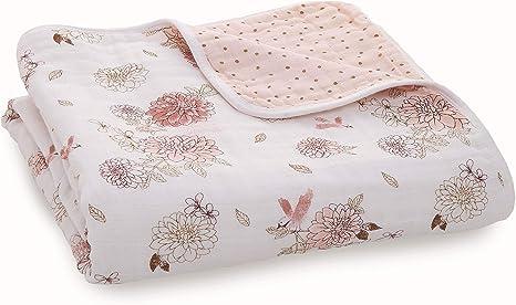 aden + anais Dream Manta 100% algodón Muselina Dahlias - Dahlias ...