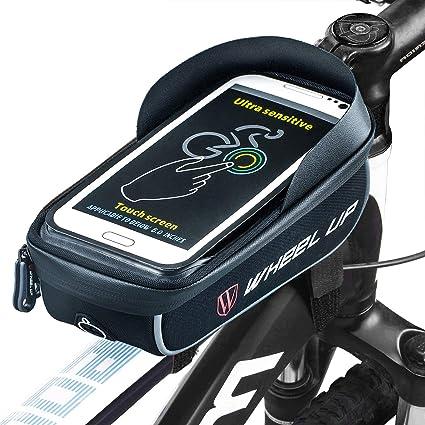 Ziroom Borsa da bici Borsa da manubrio per bici Supporto per telefono bici  6 inch Porta 8aa0688f7a8