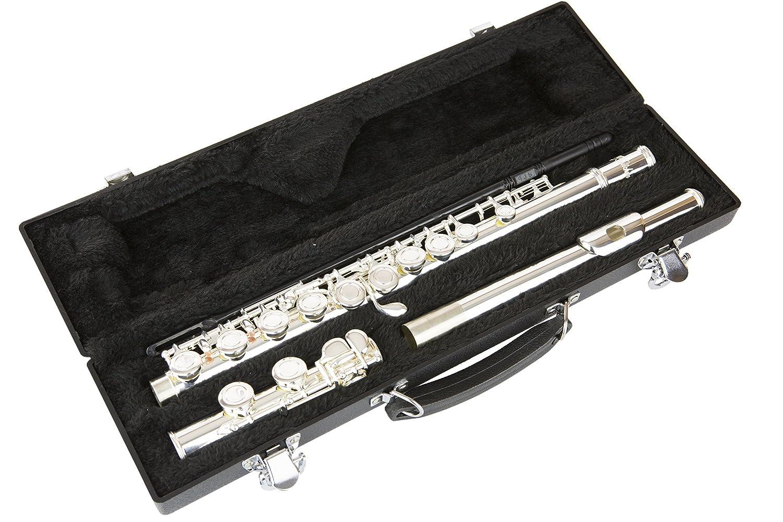 4215 Silver C Flute with Hardshell Case Cフルート/ハードケース LJ Hutchen社【並行輸入】 B000FVDYUW