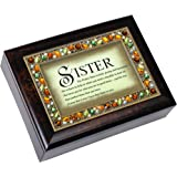 The Perfect Sister Italian Style Musical Jewelry Box by Cottage Garden