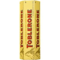 Toblerone Swiss Milk Chocolate With Honey And Almond Nougat (6 X 100 G Bars)