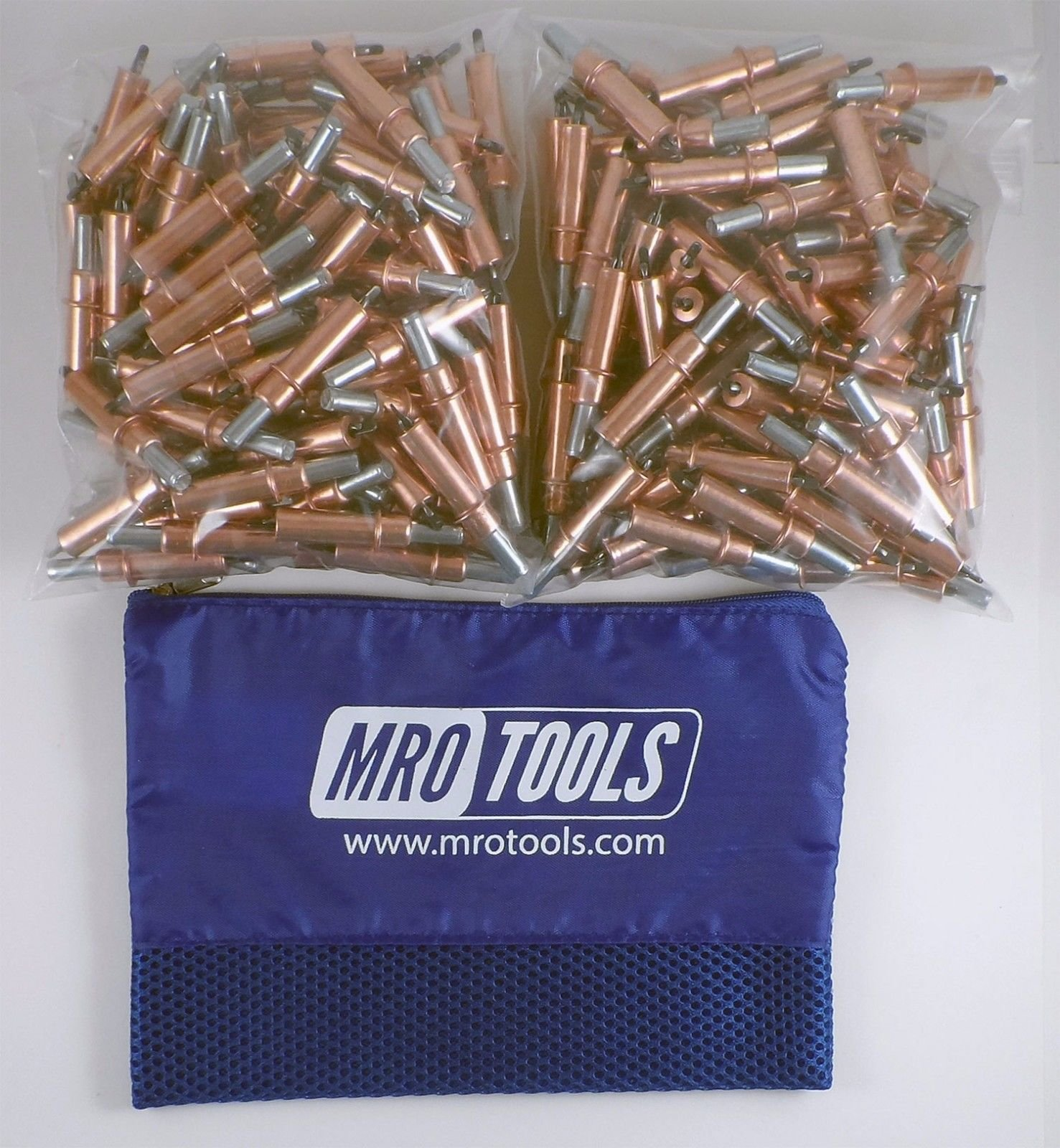 200 1/8 Cleco Sheet Metal Fasteners w/ Mesh Carry Bag (K2S200-1/8) by MRO Tools Cleco Fasteners