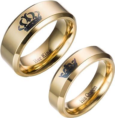 Amazing Titanium Stainless Steel Loving You Wedding Band Set Anniversary Engagement Promise Couple Ring