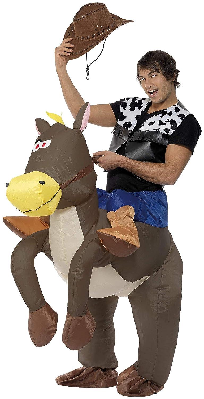 Smiffys Disfraz Hinchable de Vaquero Ride Em