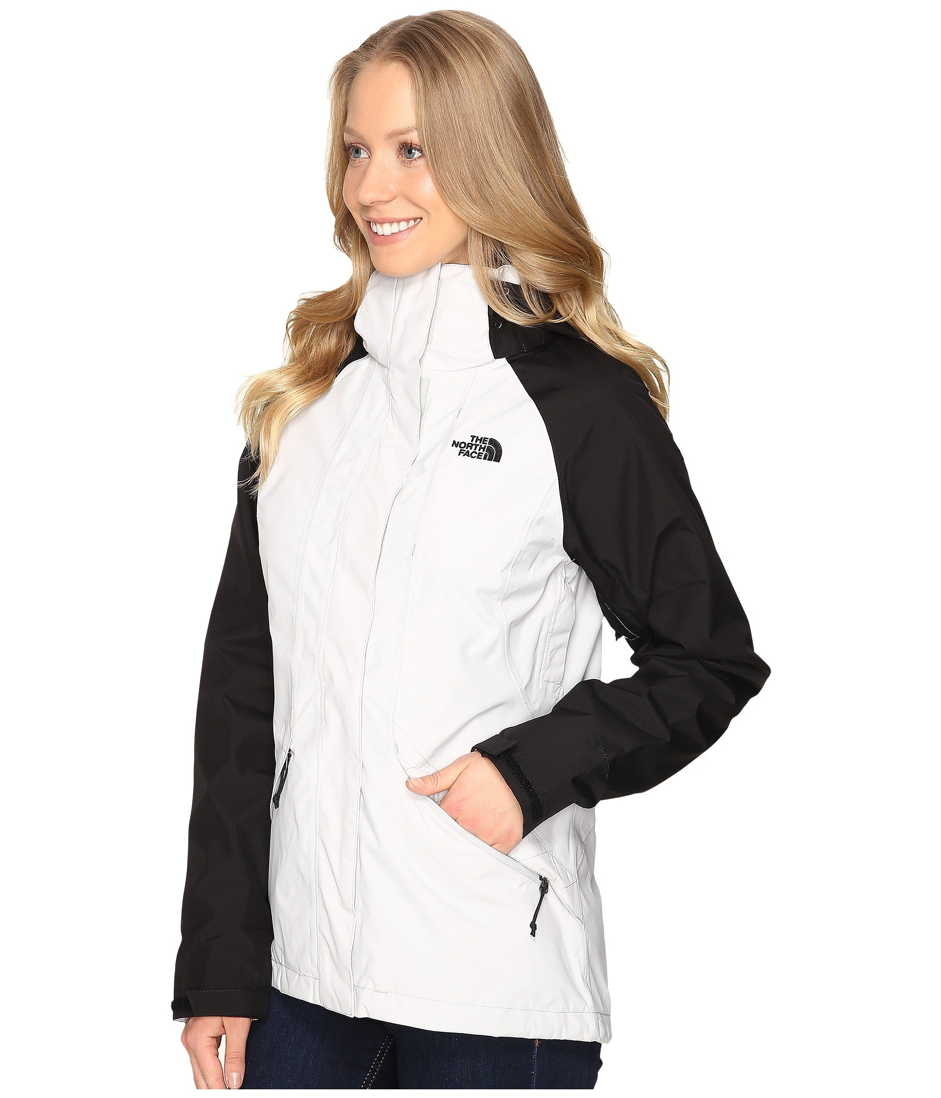 North Face Womens Boundary Triclimate Jacket - Large - Lunar Ice Grey/TNF Black by The North Face (Image #3)