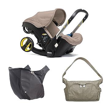 Doona Infant Car Seat Bundle With Essentials Bag Snap On Storage