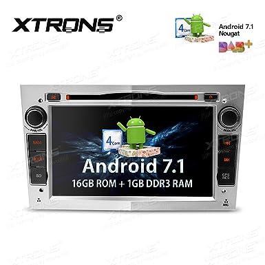 XTRONS Android 7.1 Quad Core 7 Inch HD Digital pantalla táctil Radio estéreo de coche reproductor
