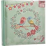 """Arpan Slip in Memo oiseau vintage 200 tient 6x4 """"/ 15x10cm Album photo"""