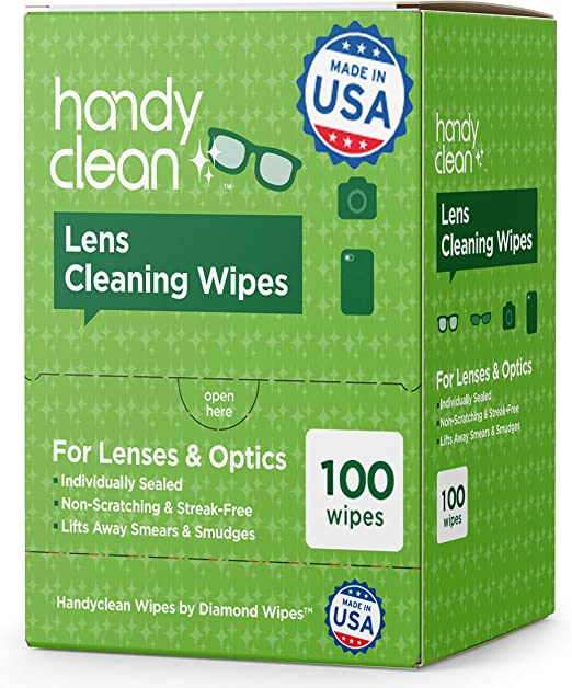 Dunau glasses cleaner portable cute wipes Glove Red Green Yellow