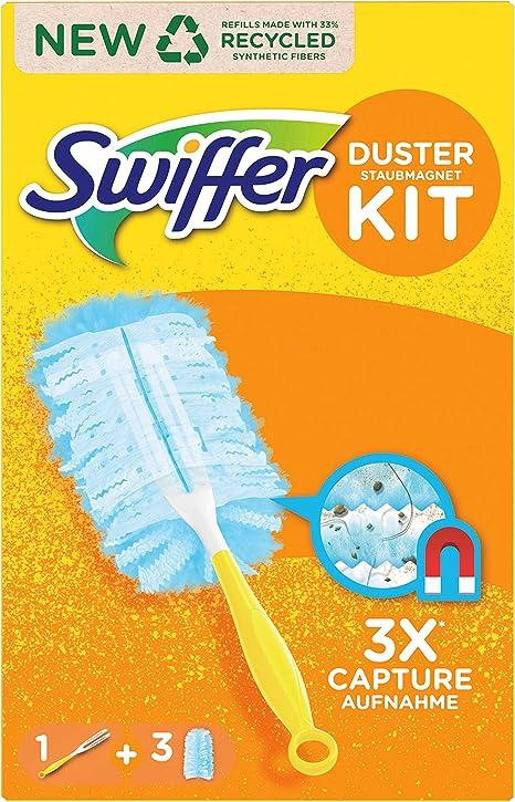 Swiffer aimant poussière Poussière essuie-glace Plumeau Poussière sélection poignée et nachfü
