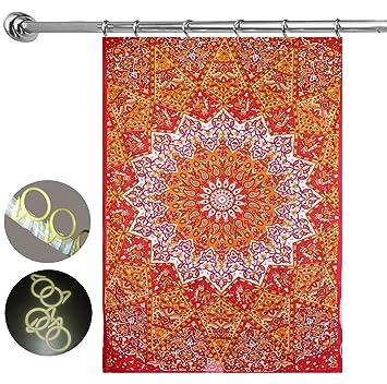 Multi Star Mandala Room Door Wall Window Tapestry Curtain with 10 PCS Hooks Mandala Door  sc 1 st  Amazon.com & Amazon.com: Multi Star Mandala Room Door Wall Window Tapestry ...
