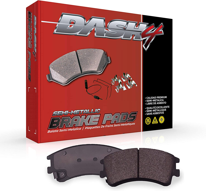 Dash4 MD1120 Semi-Metallic Brake Pad