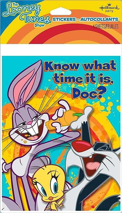 Amazon Com Looney Tunes Show Invitations W Envelopes 8ct Toys