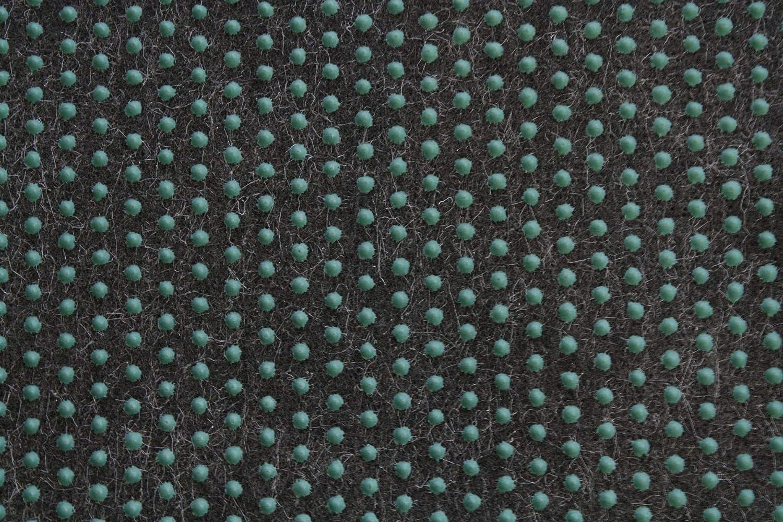 Rasenteppich Kunstrasen Premium schwarz grau Weich Meterware 400x400 cm