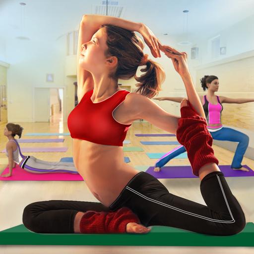 High School Yoga Girl Fitness Games