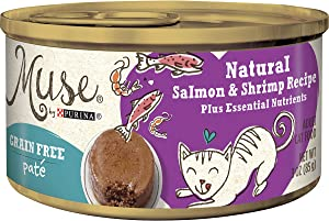 Muse Grain-Free Natural Pate Canned Wet Cat Food