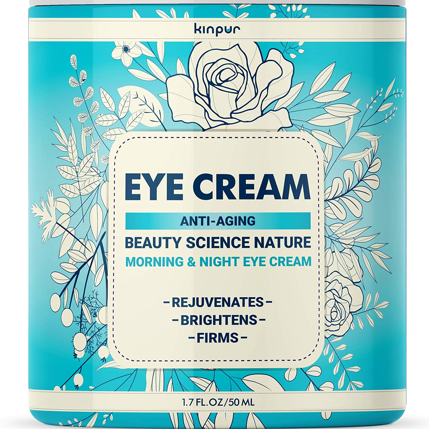 Under Eye Cream for Dark Circles and Puffiness - Best Eye Cream for Eye Bags