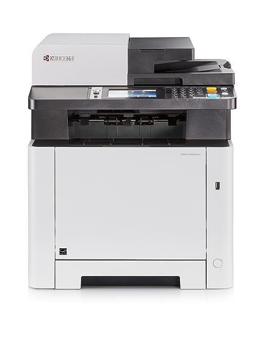 Kyocera Ecosys M5526cdn Impresora multifunción láser Color A4 | Impresora - Copiadora - Escáner - Fax | Soporte de Mobile Print para Smartphone y ...