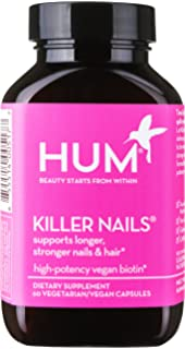 HUM Nutrition - Killer Nails - High Potency Biotin, 60 Vegan Capsules