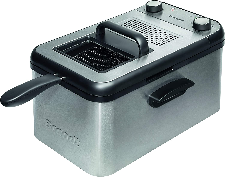 Brandt FRI3200 – Freidora de hasta 1,2 kg de patatas fritas ...