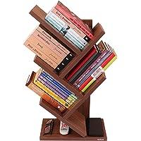 Madhuran Wood Book Shelf ,Laminated Finish,Set Of 1,Brown