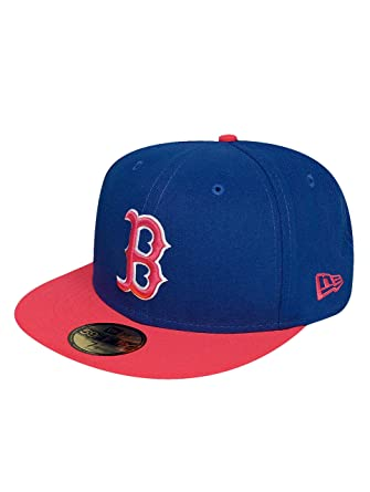 New Era Mujeres Gorras / Gorra plana Emea Ilumipopz Boston Red Sox ...