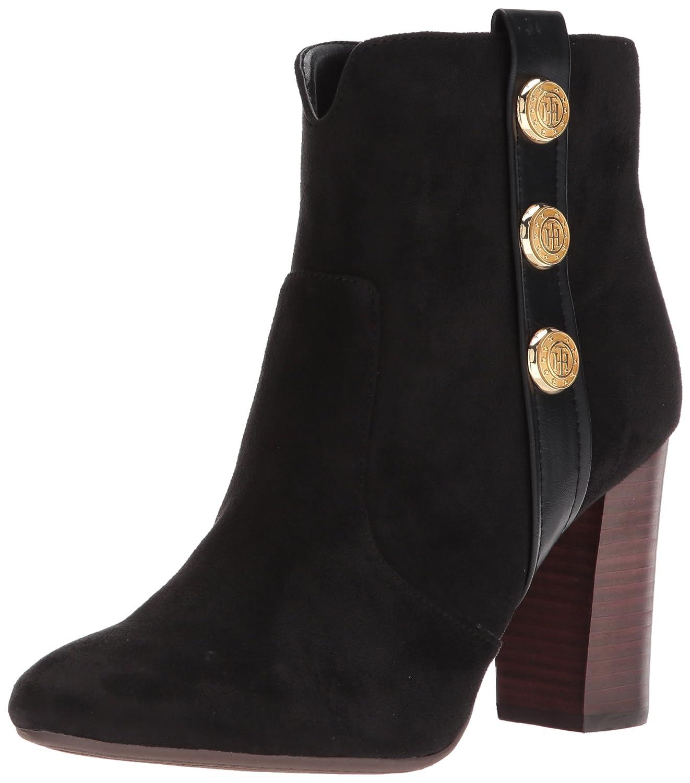 Tommy Hilfiger Women's Domain Ankle Boot B071CQQDHH 9.5 B(M) US|Black