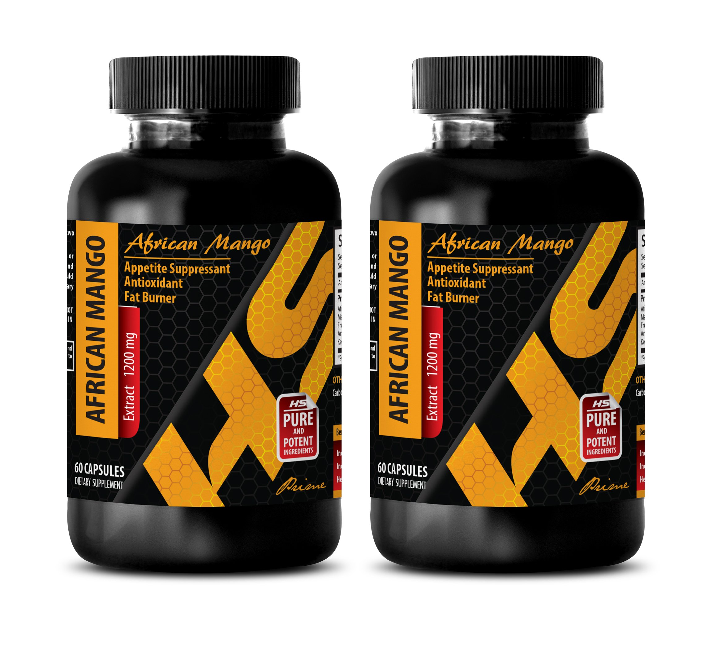 fat burning vitamins for women - AFRICAN MANGO EXTRACT 1200MG - african mango extreme - 2 Bottles (120 Capsules)