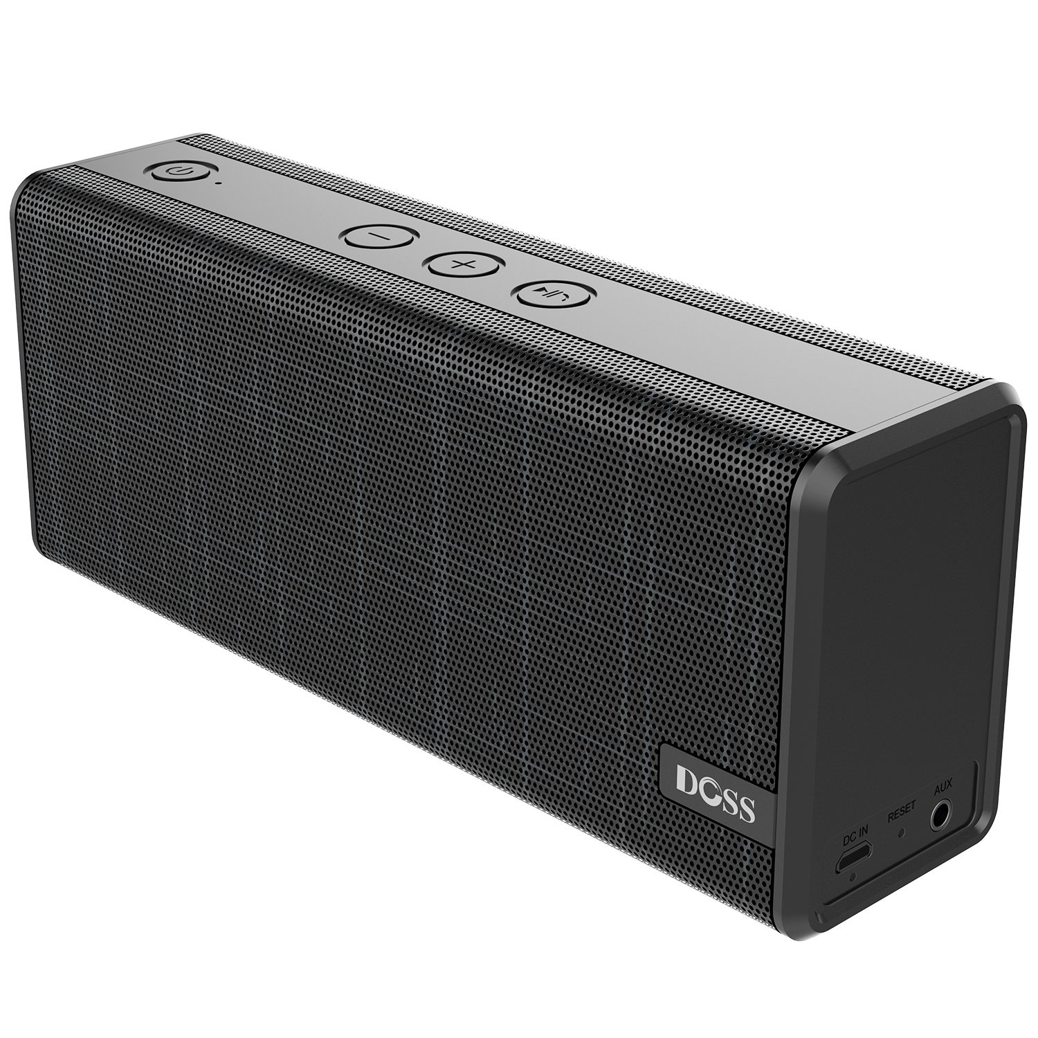 DOSS SoundBox Color Portable Wireless Bluetooth Speakers with 12W Stereo Sound and Enhanced Bass, 12H Playtime and Handsfree for Phone, Tablet, TV, etc