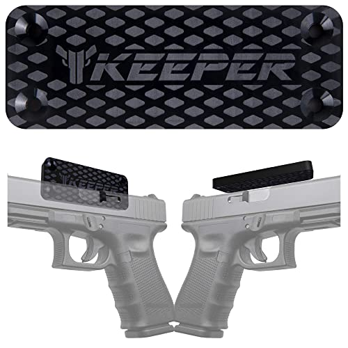Keeper MG Magnetic Gun Mount & Holster for Vehicle and Home