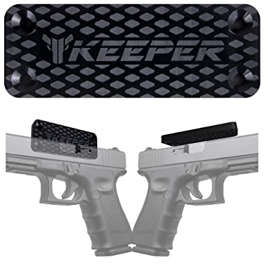 Magnetic Gun Mount & Holster for Vehicle and Home - HQ Rubber Coated 35 Lbs - Gun Magnet Firearm Accessories. Concealed Holder for Handgun, Rifle, Shotgun, Pistol, Revolver, Truck, Car, Safe