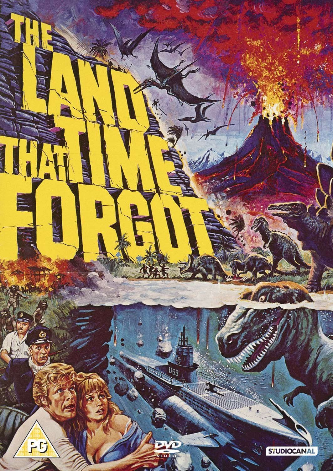 Amazon.com: The Land That Time Forgot [DVD] [1975]: Movies & TV