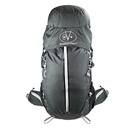 044bdaa242e1a Amazon.com   Outdoor Vitals Rhyolite 45-60L Internal Frame Backpack ...