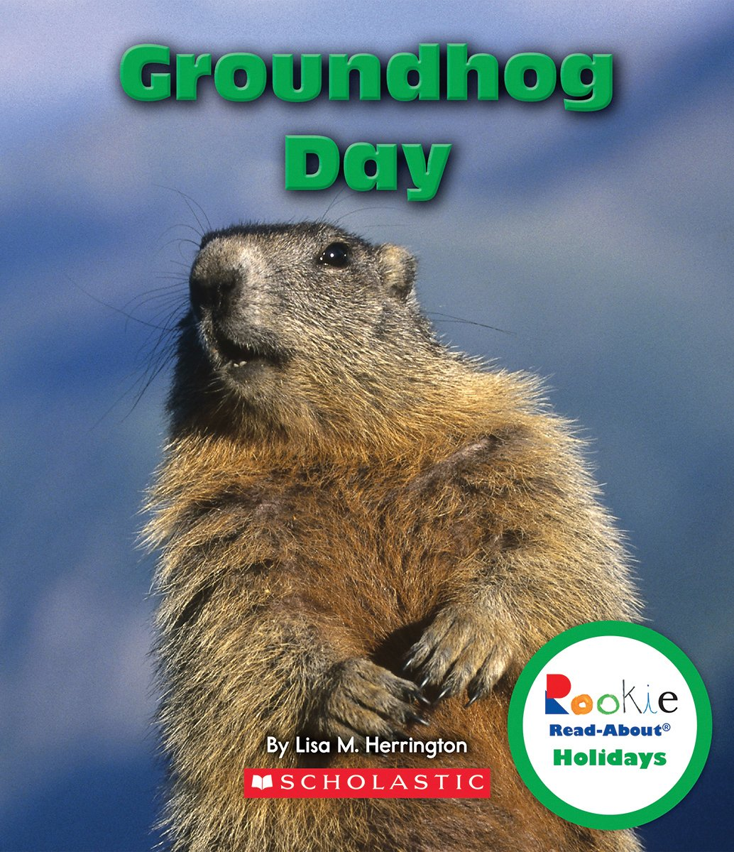 Groundhog Rookie Read About Holidays Paperback product image