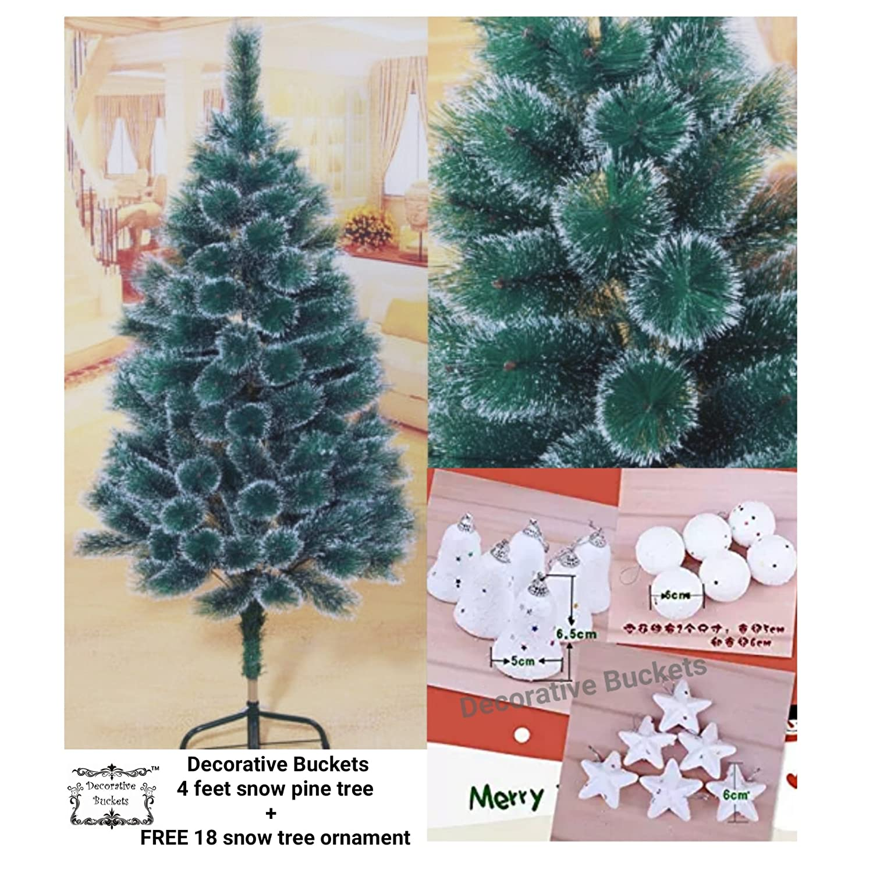 Decorative Buckets: CHRISTMAS TREE 4 FEET