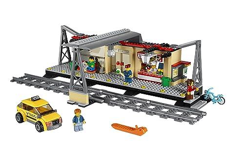 LEGO City Trains Train Station 60050 Building Toy乐高城市系列火车站60050